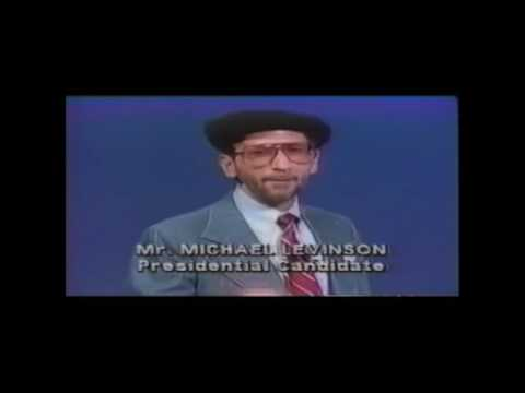 The Most Bizarre Presidential Candidate of All Time (various clips from campaign)