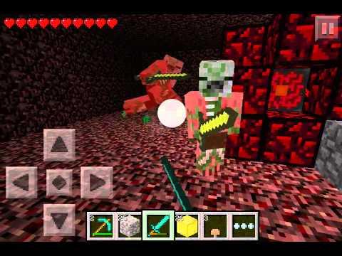 Como fazer um ``Inferno`` no Minecraft PE (Celular)