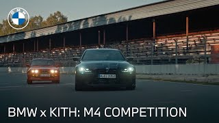 homepage tile video photo for Introducing The BMW M4 Competition by Kith | BMW USA