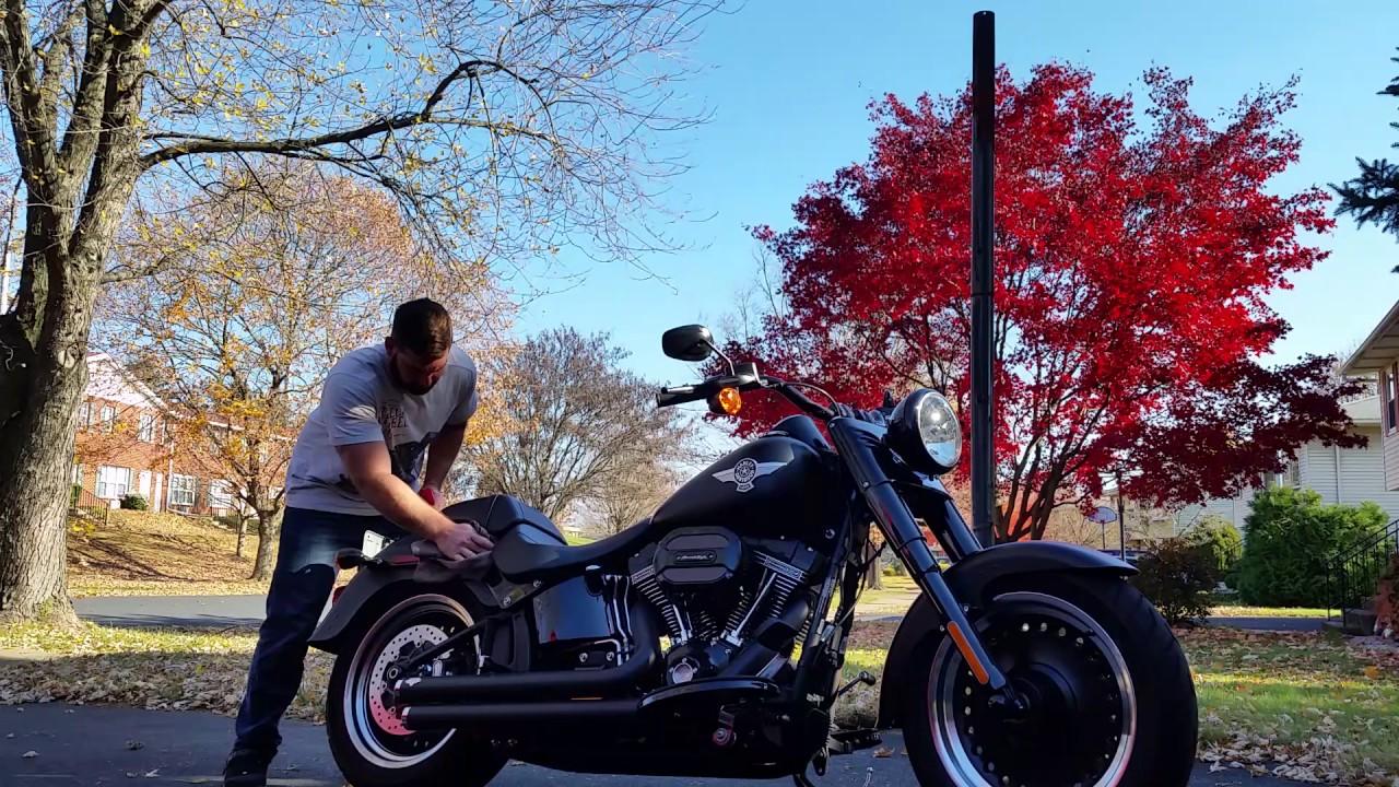 Cleaning Harley Denim, Original Method