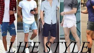Men's Shorts Style 2020   Latest Stylish Shorts Pant Outfits   LIFE STYLE SHAFIQ GUJJAR  