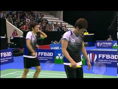 Ko Sung Hyun / Lee Yong Dae vs Koo Kien Keat / Tan Boon Heong French Badminton Open 2012