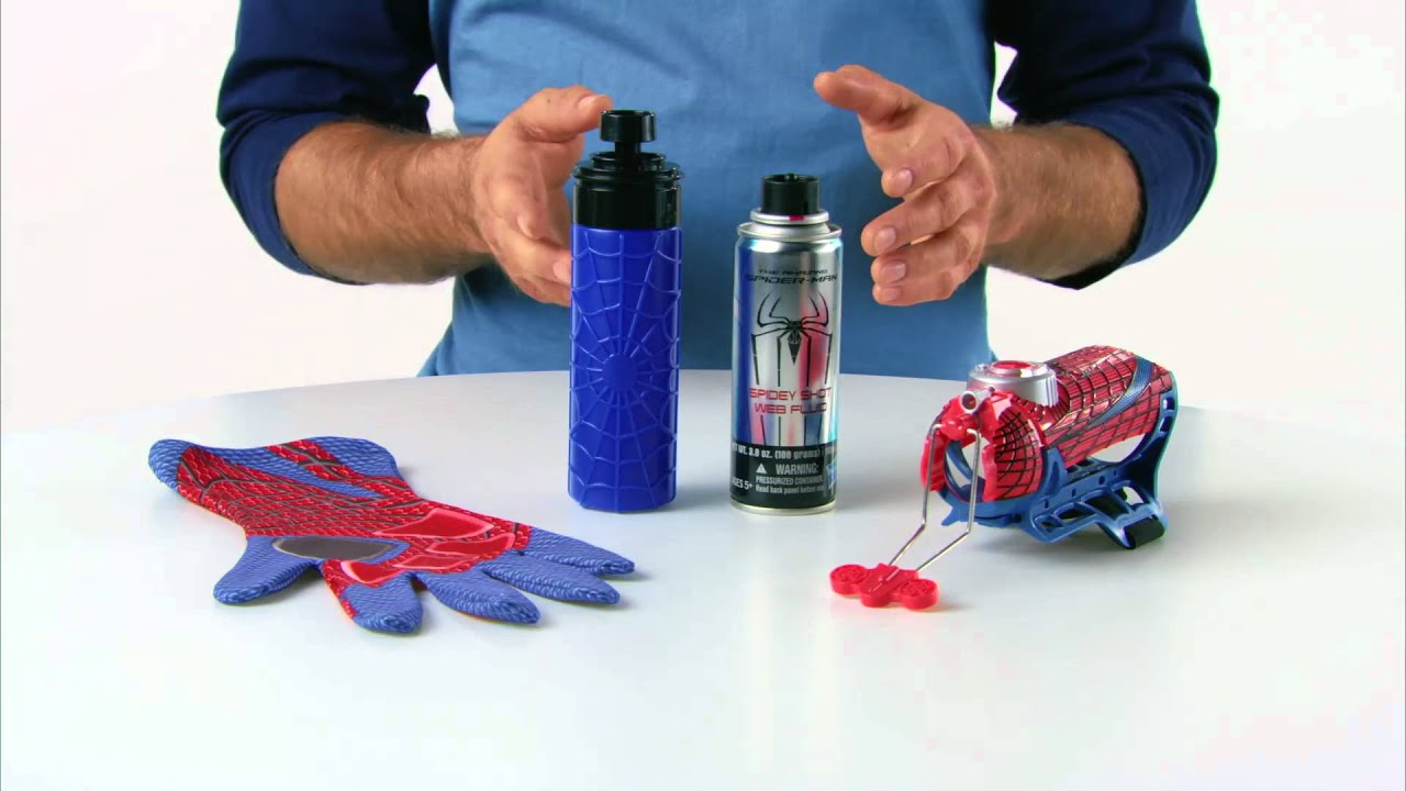 'Amazing Spiderman' Mega Blaster Web Shooter Only at To ...