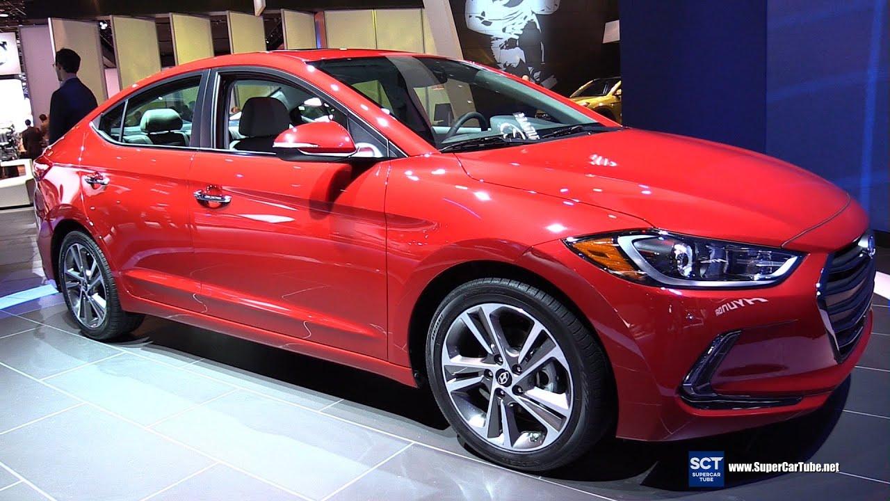 2017 Hyundai Elantra Limited Exterior And Interior Walkaround 2016 Detroit Auto Show Youtube