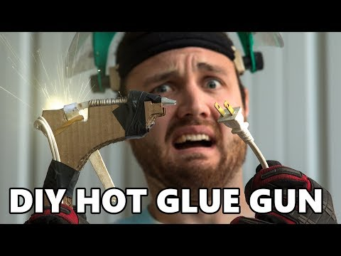 Testing Dangerous Life Hacks: DIY Hot Glue Gun