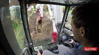 Kanalizace #12 / Hloubka 4,2 metru / Šachta a nakládání thumbnail