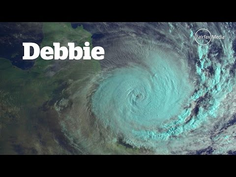 How Cyclone Debbie was named by the Bureau of Meteorology