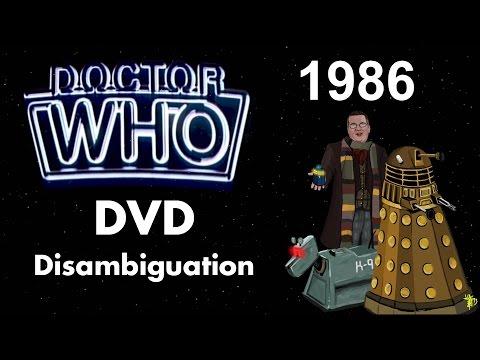 Doctor Who DVD Disambiguation - Season 23 (1986)