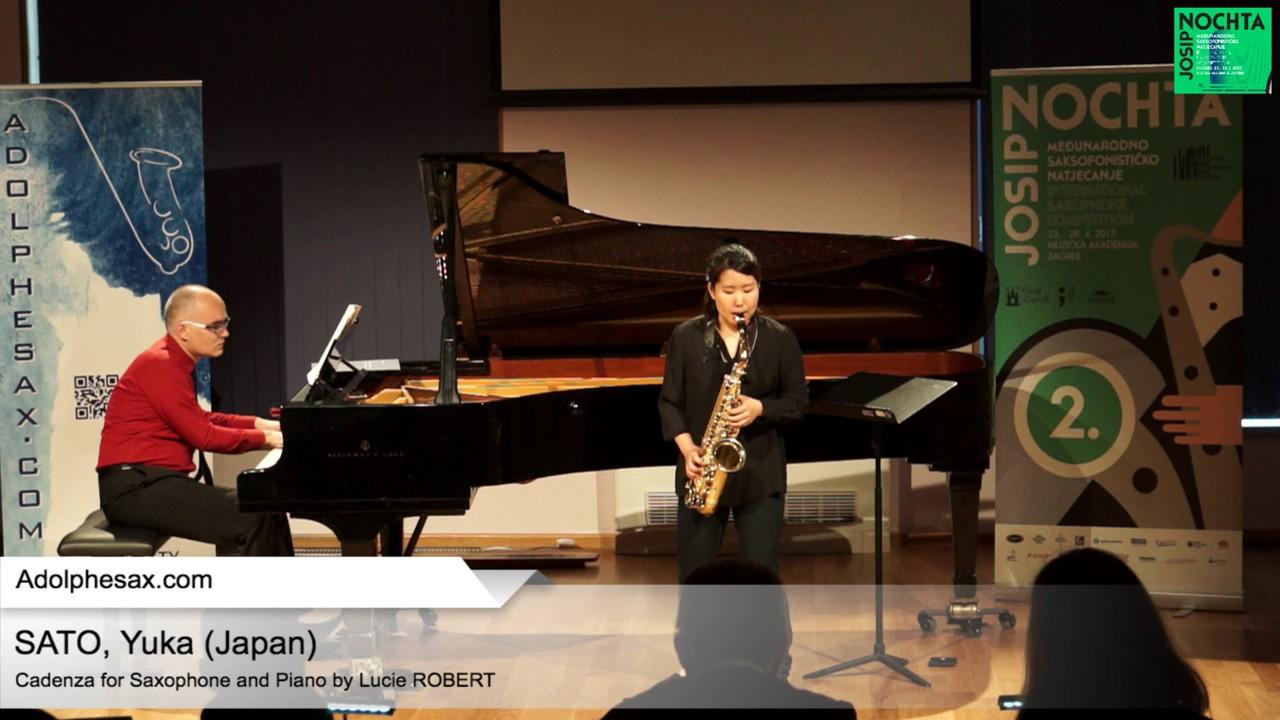 Cadenza by Lucie Robert – SATO, Yuka (Japan)