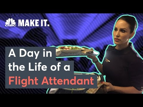 What It's Like To Be A Delta Flight Attendant | CNBC Make It.