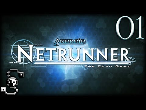 Android Netrunner: The Card Game 01 - Tabletop Simulator