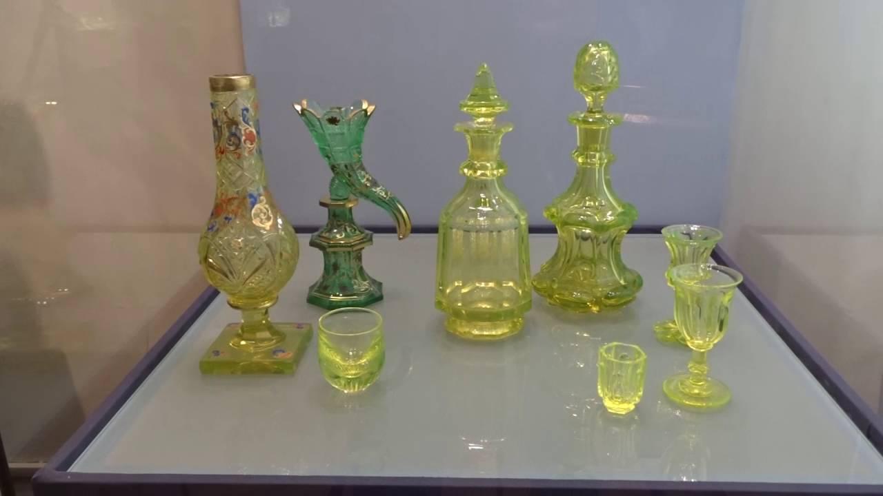 урановое стекло коллекция гурченко