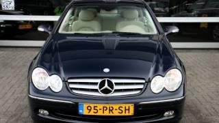 Mercedes-Benz CLK-Klasse 320 ELEGANCE SCHUIFDAK LEER PDC 1E EIGENAAR NL AUTO