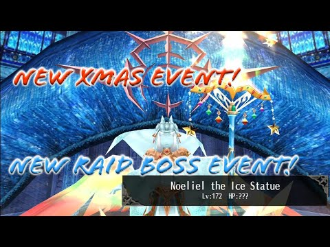 New Xmas Event! New RAID Boss and Normal Boss! Noeliel the Ice Statue with 2 Xtalls! - Toram Online