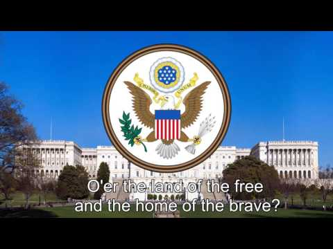 National Anthem of United States of America (USA) - The Star