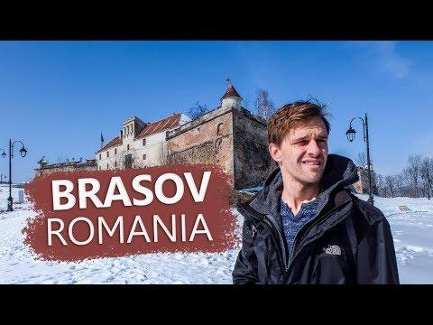 Brasov, Romania: A Beautiful City In The Winter [Travel Video]
