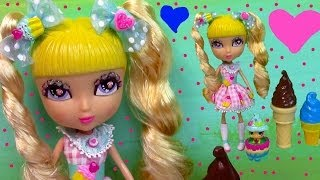 Cutie Pops Chiffon Doll Cupcake Sugar Cookie Littlest Pet Shop Hide Sweet Toy Review Opening