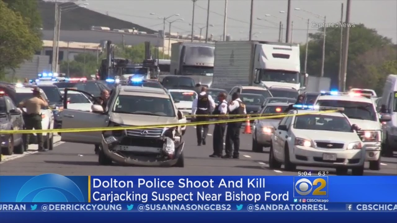 Police Fatally Shoot Carjacking Suspect After Chase On Bishop Ford