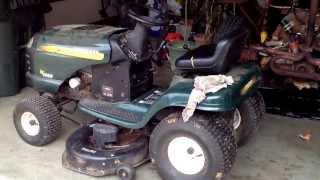 Craftsman riding mower deck belt change thumbnail