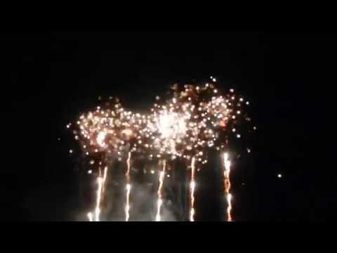 Saratoga Casino & Raceway's 3rd of July Fireworks Spectacular 2013 (Saratoga Springs, NY)