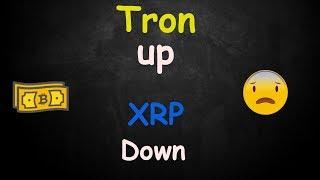 Tron TRX Is Up XRP Is Down - My Thoughts! 🔴 LIVE