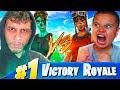 1V1 MY LITTLE BROTHER VS IRL TRASHTALKER WINTER ROYALE WINNER!!! FORTNITE **EXPOSED**