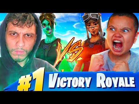 1V1 MY LITTLE BROTHER VS IRL TRASHTALKER WINTER ROYALE WINNER!!! FORTNITE **EXPOSED** | MindOfRez