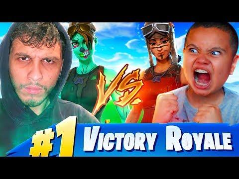 1V1 MY LITTLE BROTHER VS IRL TRASHTALKER WINTER ROYALE WINNER!!! FORTNITE **EXPOSED** thumbnail