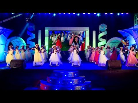 Indu Baanigella Habba   Annual Day 2016-17   KSVK School Channasandra   KSVK Group of Institutions