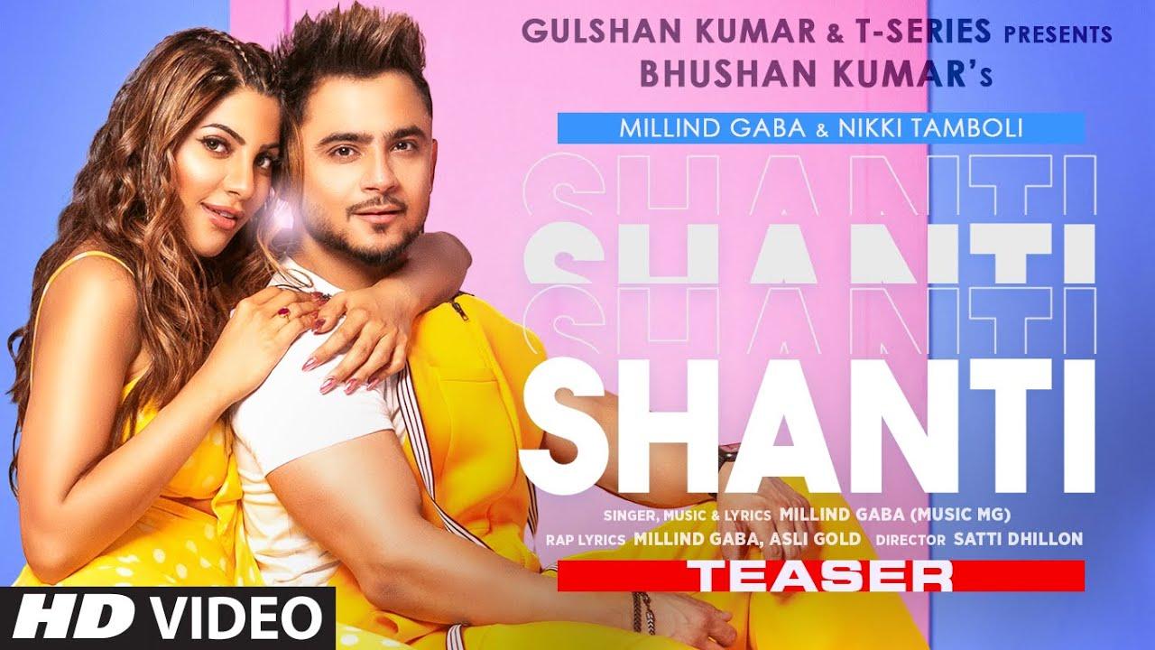 Shanti Teaser | Feat. Millind Gaba & Nikki Tamboli | Asli Gold | Satti Dhillon | Out on 22nd June