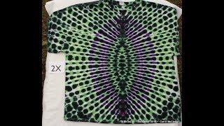 How to Tie Dye an Oval Vortex tee