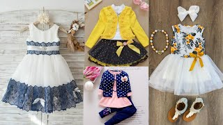 Latest Collection Of Casual Eid Dresses For Babies/Kids Outfits For Summer Season