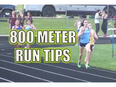 800 Meter Run Track Race Tips - The Half Mile Race