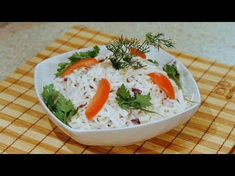 Салат Узбекистан из черной редьки и мяса