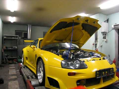58a2d63d5abe Yellow Supra at the dyno