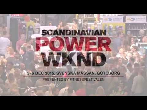 Welcome to Scandinavian Power Weekend 5‐6 dec 2015. Göteborg