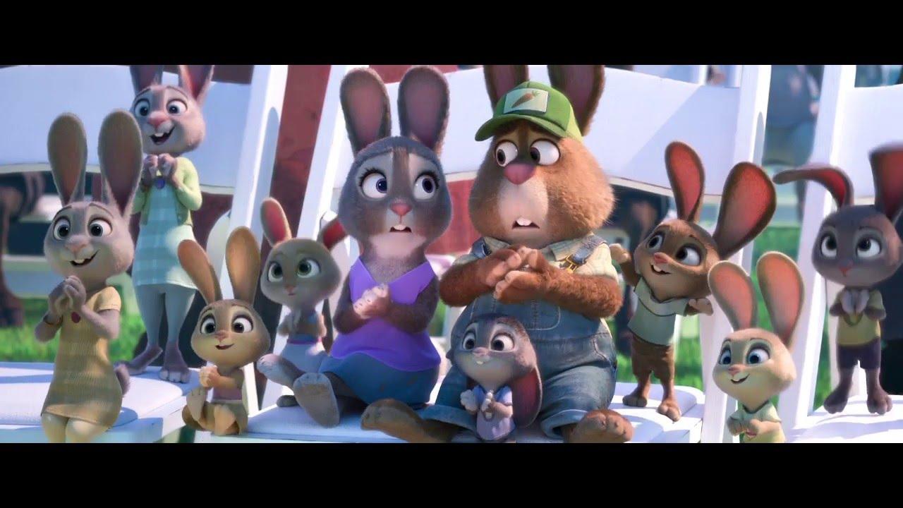 Ausmalbild Nick Und Judy Hopps Aus Zootopia: Judy Hopps Graduation - YouTube
