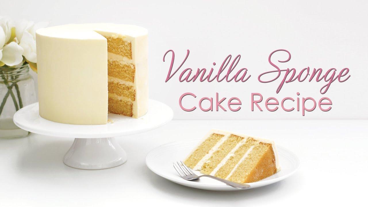 Download How to make My Vanilla Sponge Cake Recipe - Tutorial