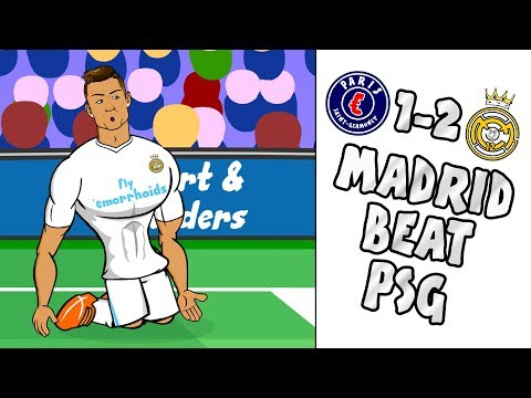 🔥REAL beat PSG - Ronaldo scores in 8 UCL GAMES!🔥 (PSG vs Real Madrid 1-2 2-5 Parody Highlights)