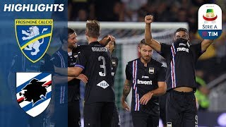 Frosinone 0-5 Sampdoria   Sampdoria Destroy Newly Promoted Frosinone!   Serie A
