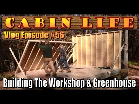 off-grid-cabin-life.-building-the-workshop-and-greenhouse-at-our-mountain-homestead.