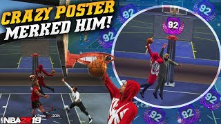 99 Contact Dunks With Extra Stamina IS OP! BIGGEST POSTERS YET! NBA 2K19 Park Gameplay
