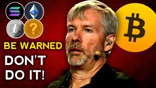 ⚠️Cryptocurrency Hodlers - IT'S A TRAP! Buy Bitcoin To Become Rich Instead - Michael Saylor