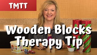 Wooden Blocks In Speech Therapy... Therapy Tip Of The Week 7.24.14