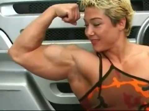 Alina Popa Huge Fbb Biceps