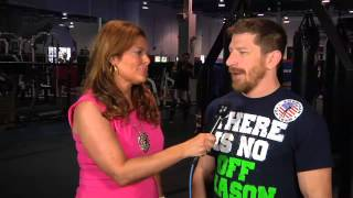 Susan Cingari Catches up with UFC fighter MIke Brown as he prepares for UFC on Fox Sports 1 fight