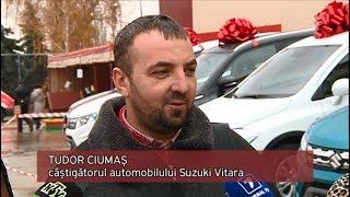 Felicitări câștigătorului celui de-al patrulea automobil SUZUKI!