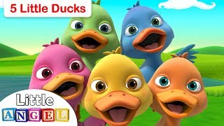 Five Little Ducks, No No Swimming Safety Tips, Apples and Bananas by Little Angel