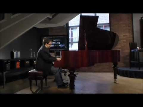 Charles Richard-Hamelin Live from the Concert Lobby May 30, 2011 Part 1