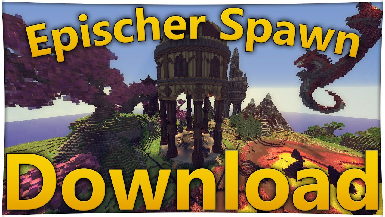 Minecraft Spawn DOWNLOAD Map German BEST Hub Lobby YouTube - Geile maps fur minecraft downloaden